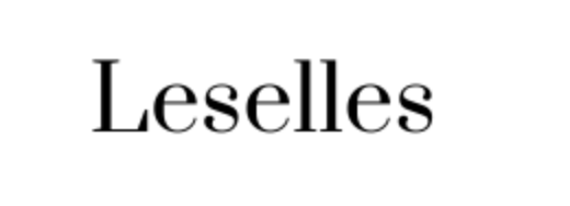 Leselles Logo Commercial Photography