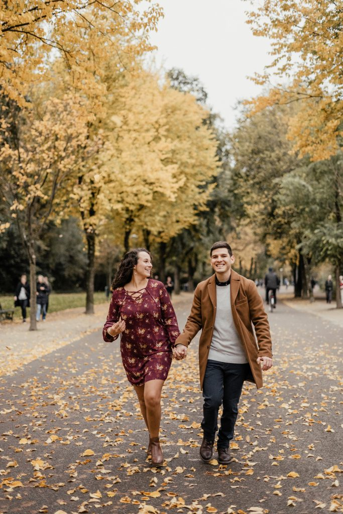 Fall Engagement Photo Session in Amsterdam