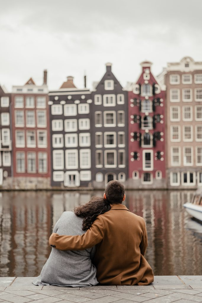 Fall Engagement Photography in Amsterdam