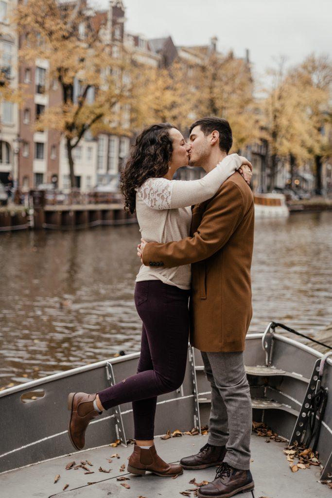 Fall Engagement Photoshoot in Amsterdam